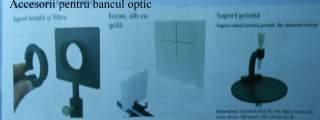 Accesorii pentru bancul optic