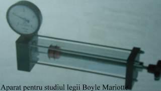 Aparat pentru studiul legii Boyle Mariotte
