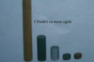 Cilindrii cu mase egale