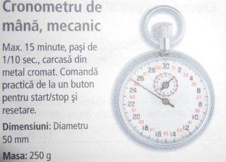 Cronometru de mana