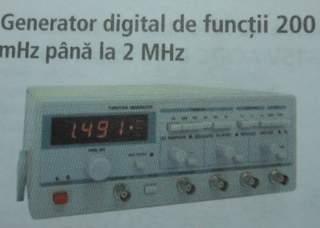 Generator digital de functii 200mHz-2MHz