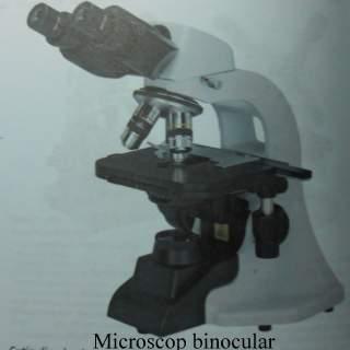 Microscop binocular