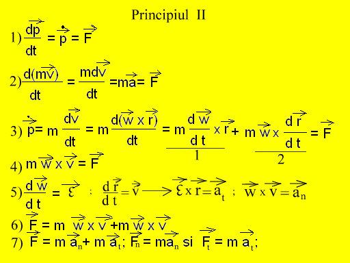 principiu II